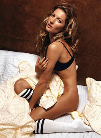 Жизель Бюндхен (Gisele Bündchen), GQ US July 2008