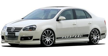 Седан Volkswagen Jetta от мануфактуры Newing