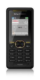 Телефон начального уровня Sony Ericsson K330
