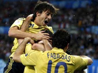 Сказка закончилась: Испания громит Россию 3:0