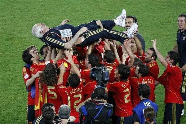Испания стала чемпионом Евро-2008, победив Германию