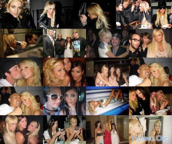Интимные снимки с вечеринок Пэрис Хилтон попали в Интернет.
