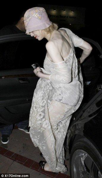 Похудевшая Кортни Лав (4 фото)