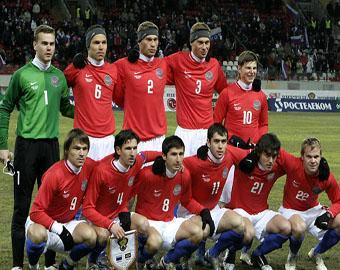 Сборная России по футболу поднялась на 11-е место в рейтинг-листе ФИФА