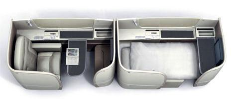 Японские авиалинии предлагают летать с максимумом комфорта