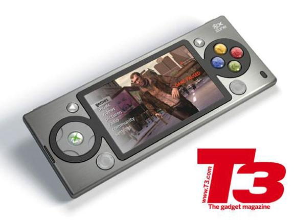 Появился концепт-телефон Xbox 360 плюс Zune
