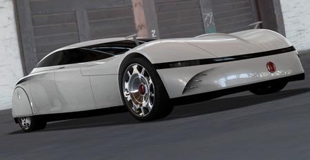 Футуристичный Tatra 903 Concept
