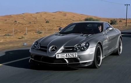 Информация о новом Mercedes SLR limited edition