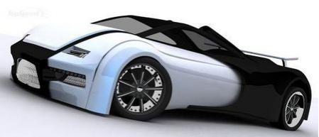 Концепт Bugatti ELijah 1 от дизайнера-энтузиаста