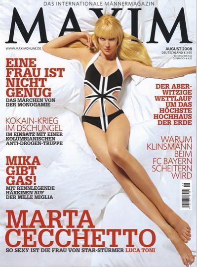 Марта Чекетто (Marta Cecchetto), фотосессия Maxim