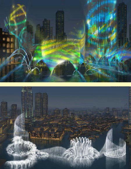 В Дубае построят самый большой в мире фонтан