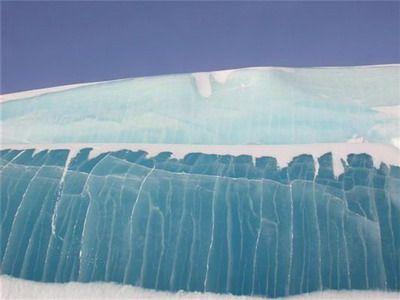 Замерзшее цунами – уникальное явление природы