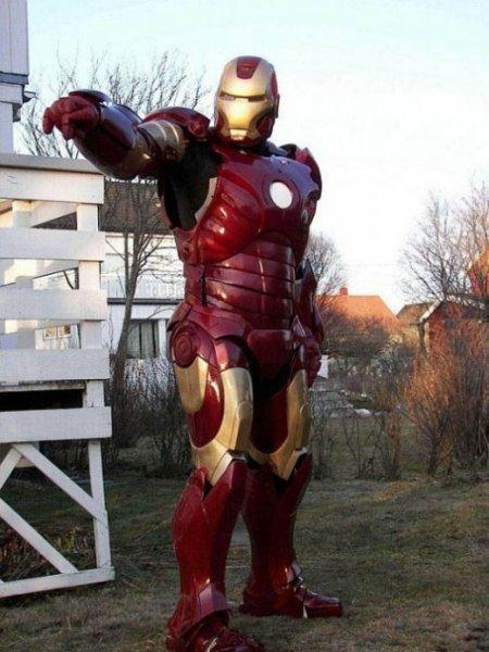 Самодельный костюм из фильма Железный человек