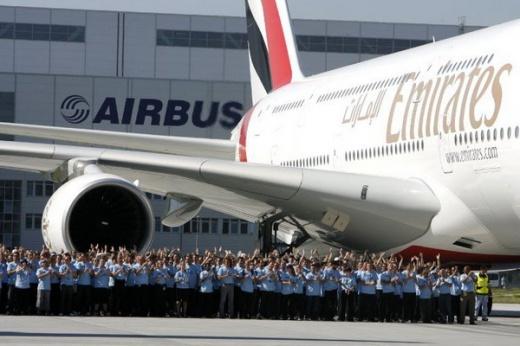 Airbus A380 - шикарный самолет