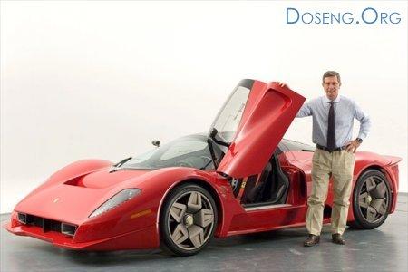 погиб известный дизайнер автомобилей Ferrari и Maserati Андреа Пининфарина  ...