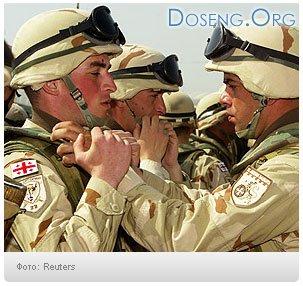 В Грузию стягивают войска из Ирака