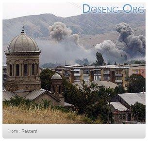 Над Осетией идут воздушные бои