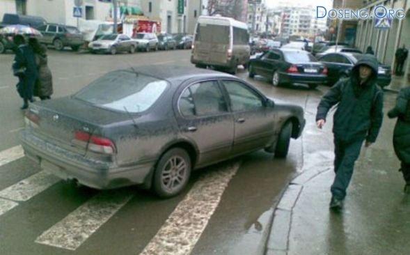 Как не нужно парковаться