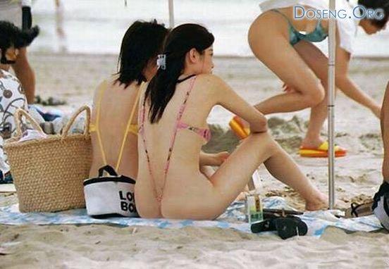 Последний писк пляжной моды из Японии (7 фото)