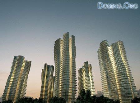 Заха Хадид: проект жилого комплекса в Сингапуре