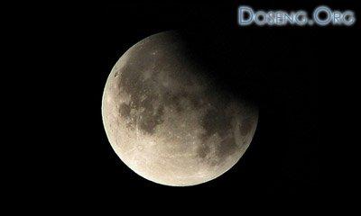 16 августа состоится частичное лунное затмение