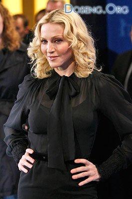 Небольшая фотосессия Мадонны