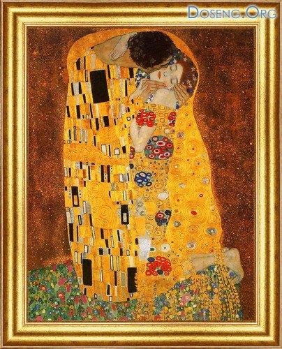 Густав Климт - картины, написанные золотом