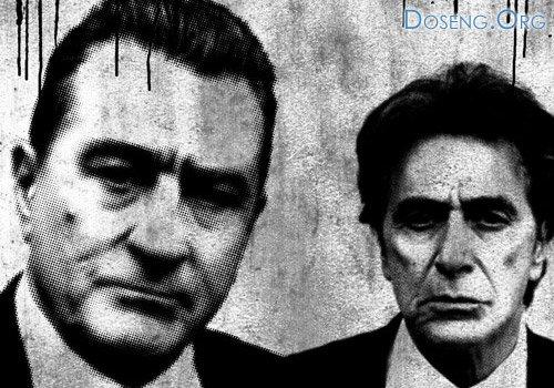 Роберт Де Ниро (Robert De Niro) и Аль Пачино (Al Pacino) в фильме «Праведно ...