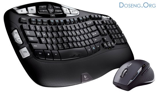 Cordless Desktop Wave Pro от Logitech