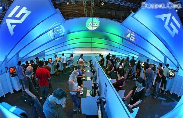 Выставка новинок игровой и мультимедийной индустрии Games Convetion Leipzig ...