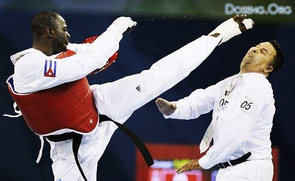 Скандал на Олимпиаде: Спортсмен избил судью!!!