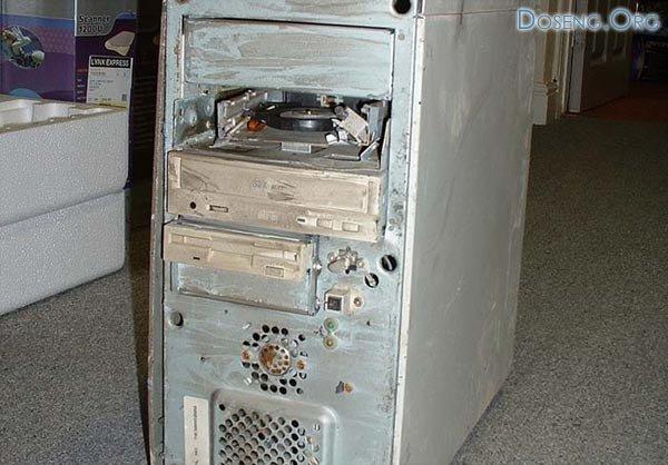 Ну очень грязный компьютер. 3 фото