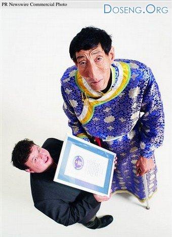 Бао Ксишун вернул себе титул самого высокого человека