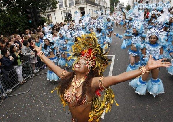 Карнавал карибской культуры в Ноттинг-Хилле (Лондон)