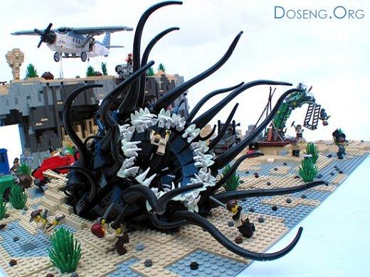 Лего ужастики
