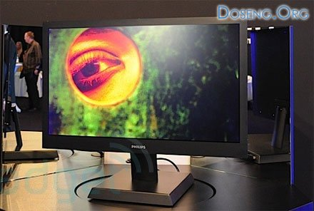 Philips представил ЖК-ТВ толщиной 8 мм