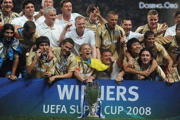 Питерский клуб Зенит стал обладателем Суперкубка УЕФА