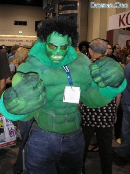 Фанаты комиксов на фестивале Comic Con-2008