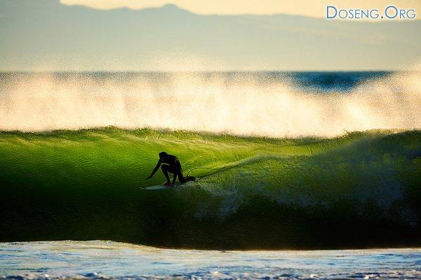 Так волны морские еще никто не показывал! Фотограф David Orias