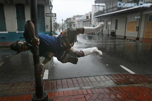Ураган Густав обрушился на Новый Орлеан, Луизиана