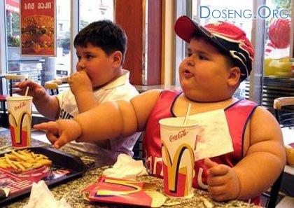 Ученые изучили жирных детей – всё дело в их нервных матерях