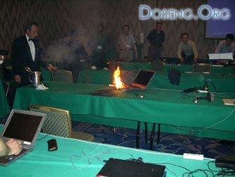 Горящие ноутбуки разоряют Sony