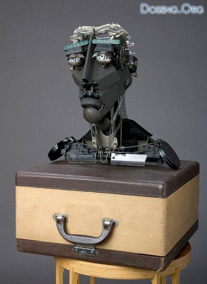 Скульптуры из пишущих машинок Джереми Майера