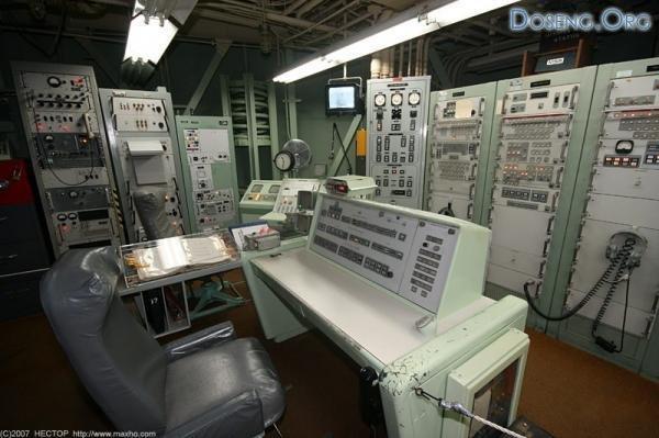 Подземный пункт управления ядерными ракетами США
