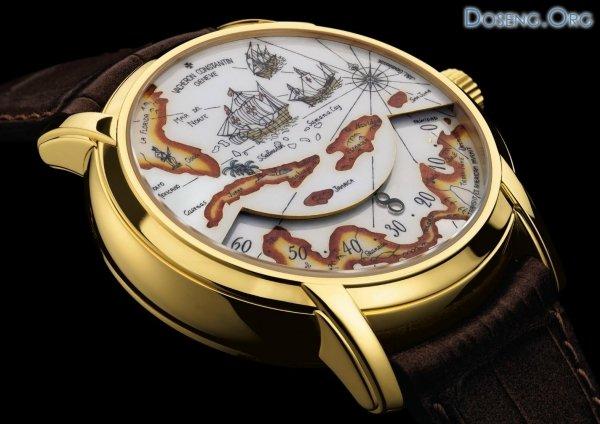 Часы Vacheron Constantin в честь великих путешественников
