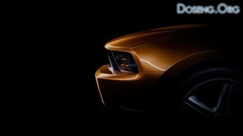 Первые фрагменты обновленного Ford Mustang GT