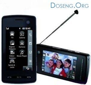 Телефон преобразован в телевизор: новинка KB770 от LG