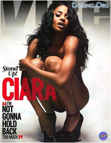 Сиара (Ciara) разделась для журнала Vibe октябрь'08