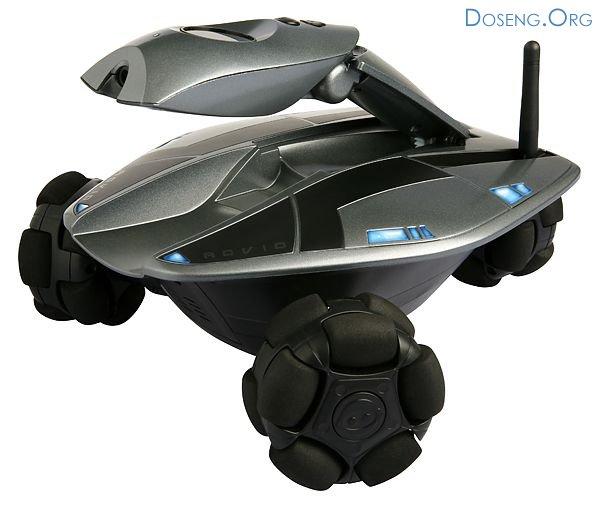 Wi-Fi робот Rovio - веб-камера на колесах