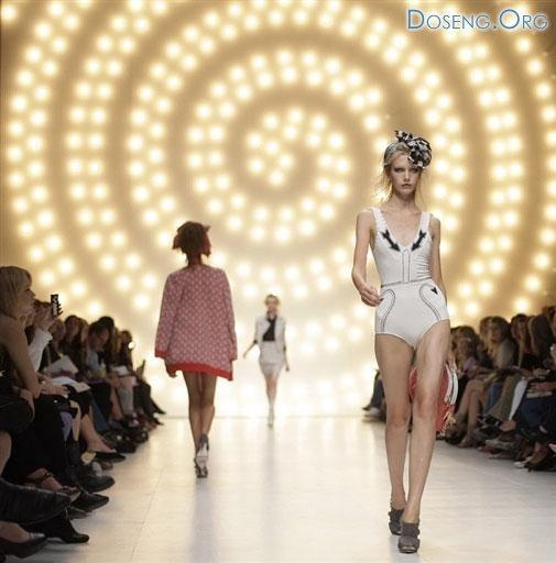 Толстые против худых. Лондонская неделя моды началась с протеста